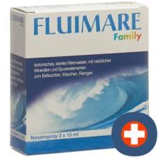 Fluimare nasal spray family 3 fl 15 ml