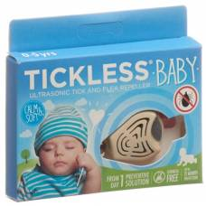 Tickless baby tick protection beige