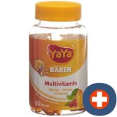 Yayabears gummi bears multivitamin ds 60 pcs