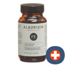 Algorigin iron spirulina tbl fl 120 pcs
