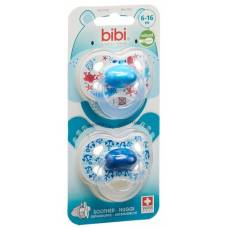 Bibi nuggi happiness natural silicon 6-16 m with ring trends duo main assorted sv-c