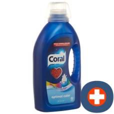 Coral optimal color 25 washes fl 1.25 lt
