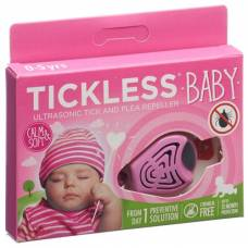 Tickless baby pink tick protection