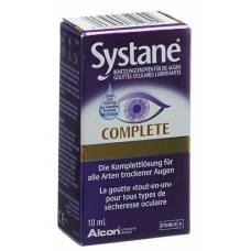 Systane complete wetting drops fl 10 ml