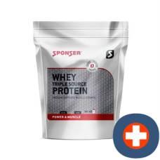 Sponsor whey protein vanilla triple source battalion 500 g