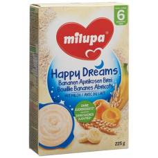 Milupa happy dreams banana apricot porridge 225 g