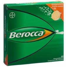 Berocca brausetabl orange flavor 60 pcs