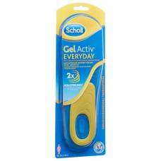 Scholl gelactiv insole 35.5-40.5 everyday women 1 pair