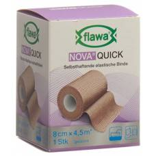Flawa nova quick cohesive rice binding 8cmx4.5m tan
