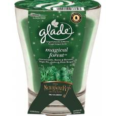 Glade premium scented candle magical forest 224 g