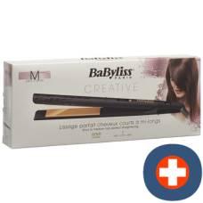 Babyliss hair straighteners gold ceramic 24mm