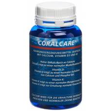 Care coral calcium 750 mg vitamin d3 kaps + k2 ds 120 pcs