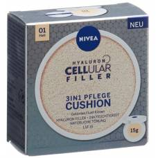 Nivea hyaluron filler cellular 3in1 care cushion light 15 ml