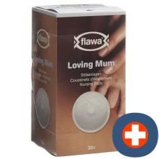 Flawa loving mum classic nursing pads 30 pcs