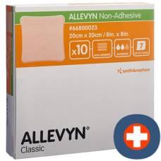 Allevyn non-adhesive wound dressing 20x20cm 10 pcs