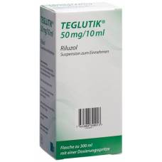Teglutik susp 50 mg / 10ml oral fl 300 ml