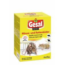Gesal protect mice and rats bait 6 x 25 g