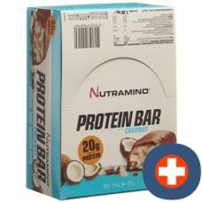 Nutramino protein bar coconut 16 x 66 g
