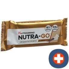 Nutramino nutra-go protein vanilla wafer 12 x 39 g