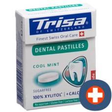 Trisa dental lozenge fresh mint