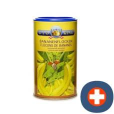 Bioking banana flakes dried organic ds 200 g