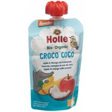 Holle croco coco - pouchy apple mango coconut 100g