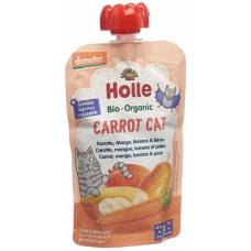 Holle carrot cat - pouchy carrot mango banana & pear 100g