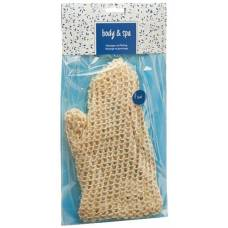 Herba massage glove finely sisal