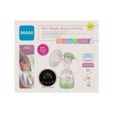 Mam 2in1 single breast pump electric and manual
