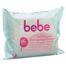 Bebe 5in1 care cleansing wipes 25 pcs