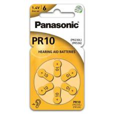 Panasonic hearing aid batteries 10 6 pcs