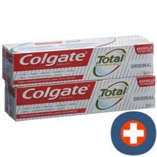 Colgate total original toothpaste duo 2 tb 100 ml