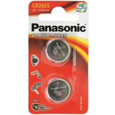 Panasonic batteries coin cell cr2025 2 pcs