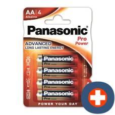 Panasonic pro power battery aa lr6 4 pcs