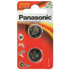 Panasonic batteries coin cell cr2032 2 pcs