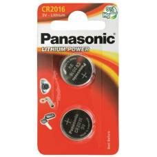 Panasonic batteries coin cell cr2016 2 pcs