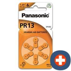 Panasonic hearing aid batteries 13 6 pcs