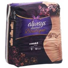 Always discreet boutique incontinence pants m plus 9 units