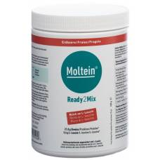 Moltein ready2mix strawberry ds 400 g