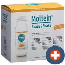 Moltein ready2shake mango 6 fl 24 g