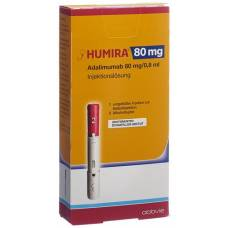 Humira inj lös 80 mg / 0.8ml prefilled injector 0.8 ml