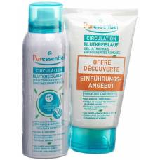 Puressentiel bloodstream duo bloodstream spray + ultra fresh gel