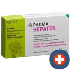 Padma hepaten cape blist 60 pcs