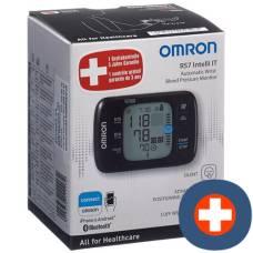Omron blood pressure monitor wrist rs7 intelli it