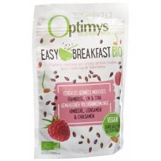 Optimys easy breakfast raspberry flaxseed and chia seeds bio battalion 350 g