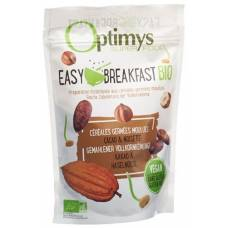 Optimys easy breakfast cocoa and hazelnuts organic battalion 350 g