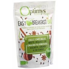 Optimys easy breakfast hazelnuts and flax seed chai spices organic battalion 350 g