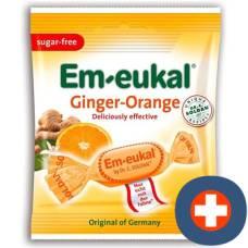 Soldan em-eukal ginger-orange sugar free btl 50 g