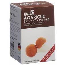 Hawlik agaricus extract powder + kaps 120 pcs