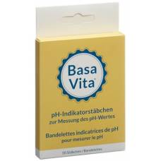 Basa vita ph indicator strips ds 50 pcs